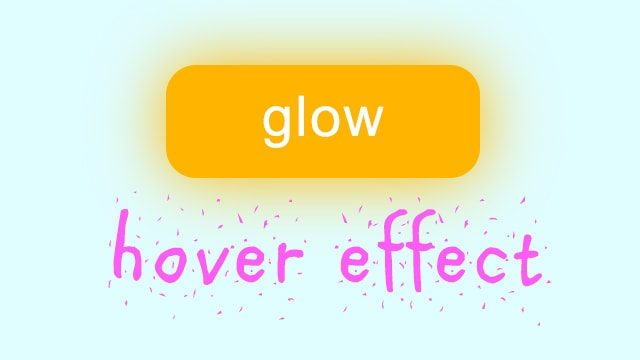 css glow effect
